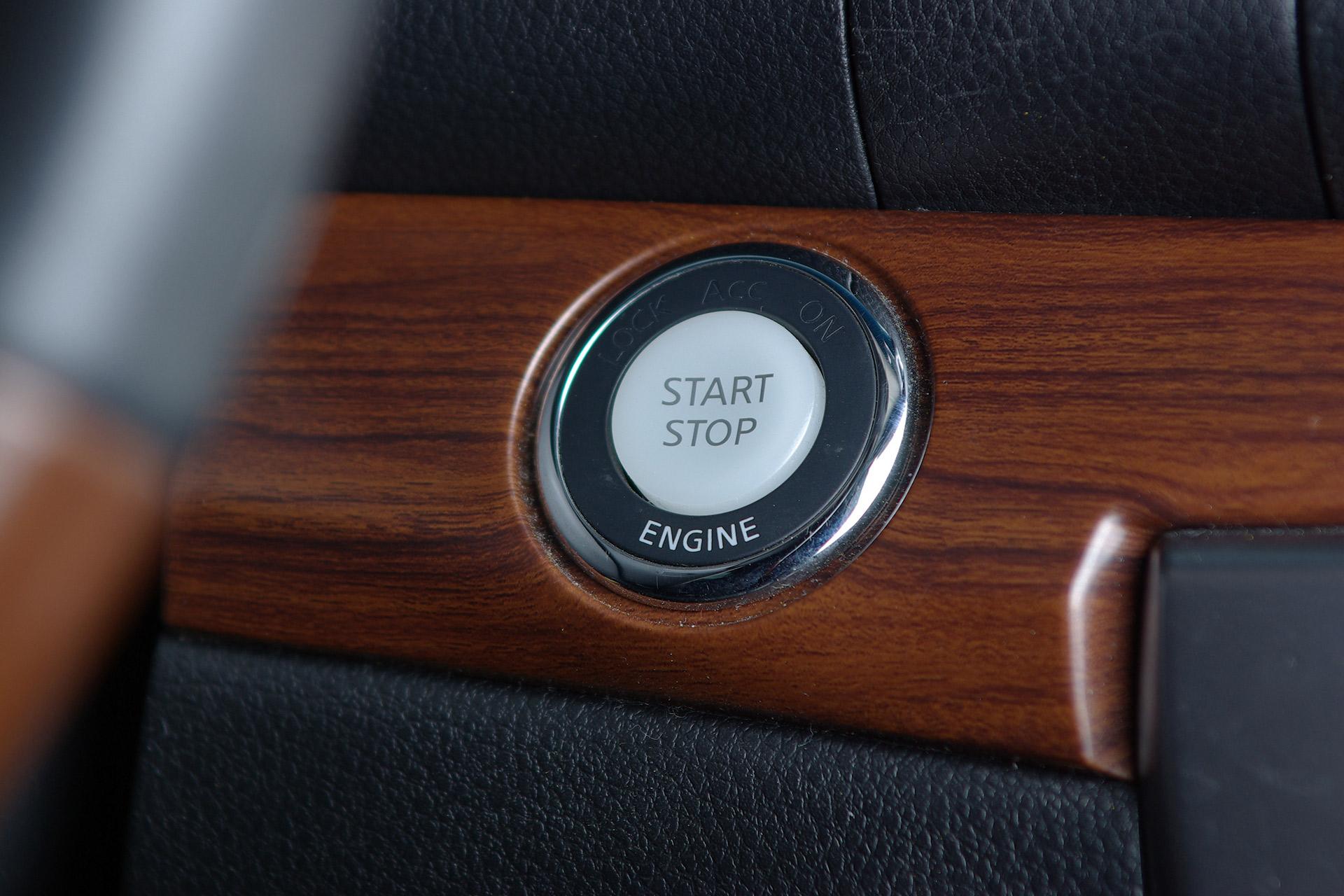 Historic and super modern cars, precious veneer details